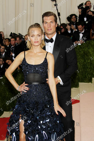 Amber Valletta and Christian McCaw
