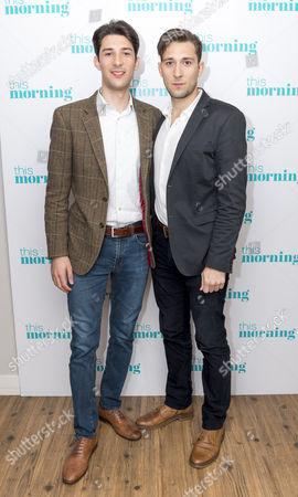 Stock Photo of Robert Peluso and Michael Peluso