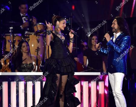 Editorial picture of Latin Billboard Music Awards show, Miami, America - 28 Apr 2016