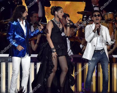 Editorial image of Latin Billboard Music Awards show, Miami, America - 28 Apr 2016