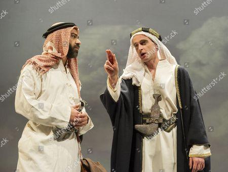 Khalid Laith as Prince Feisal,  Jack Laskey as TE Lawrence