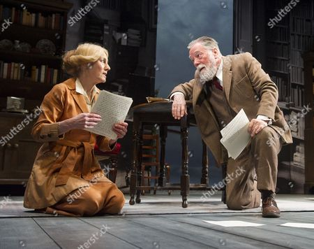 Geraldine James as Charlotte Shaw, Jeff Rawle as Bernard Shaw