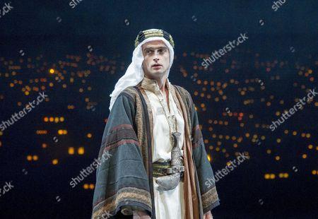 Stock Photo of Jack Laskey as TE Lawrence