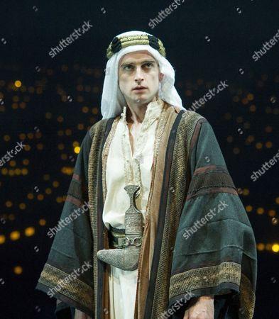 Stock Image of Jack Laskey as TE Lawrence