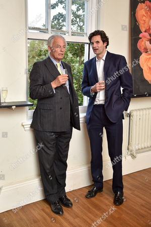 Stock Image of The Marquess of Reading and Rupert Finch