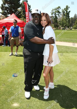Stock Image of Cedric the Entertainer, Debbe Dunning