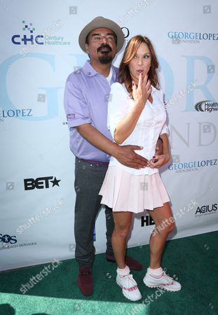 George Lopez, Debbe Dunning