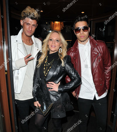 Stock Image of TayTay Starhz, Stacey Jackson & guest