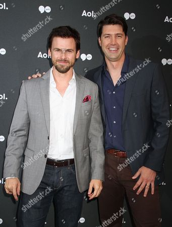 Stock Image of Tommy Dewey and Tug Coker