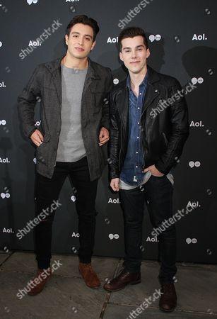 Gabriel Monte and Jeremy Shada