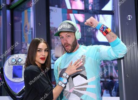 Olivia Culpo and Johnny Wujek