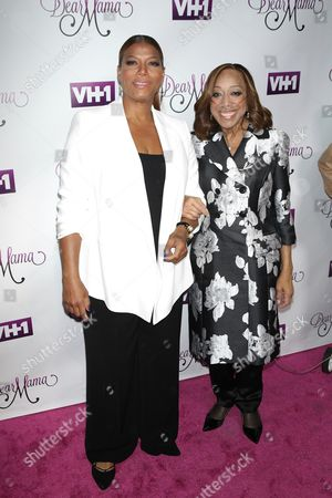 Stock Image of Queen Latifah and Rita Owens