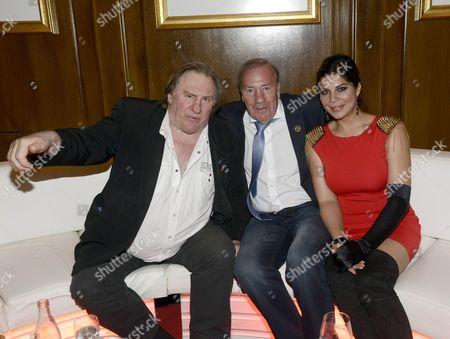 Gerard Depardieu, Frank Fleschenberg and Indira Weis
