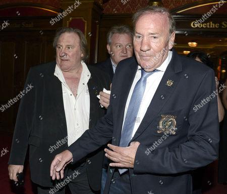 Gerard Depardieu and Frank Fleschenberg
