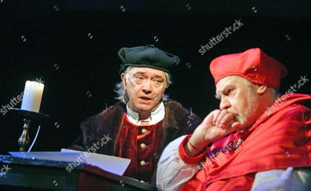Stock Image of Martin Shaw and Brian Poyser