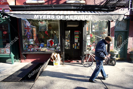 'Myers of Keswick' grocery store, New York, America