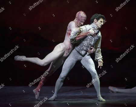 Steven McRae as The Creature, Federico Bonelli as Victor Frankenstein