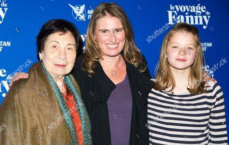 Fanny Ben Ami, Lola Doillon and Leonie Souchaud