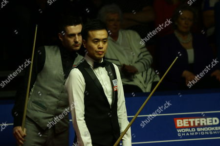 Mark Selby and Marco Fu