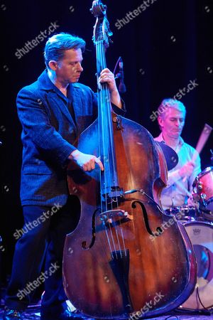 Stock Picture of Ian Jennings - double bass