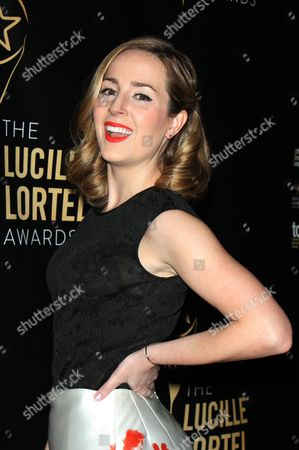 Editorial image of 31st Annual Lucille Lortel Awards, New York, America - 01 May 2016