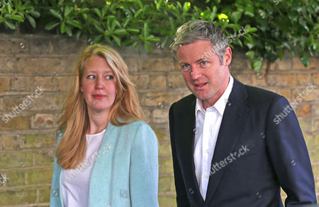 Zac Goldsmith arrives at the polling station with his wife Alice Rothschild (L looking at him) to cast their votes - Conservative Candidate for Mayor of London - Voting at Kitson Hall, Barnes, Richmond Park Constituency - London - 05/05/2016  Andrew Fosker/ Seconds Left Images