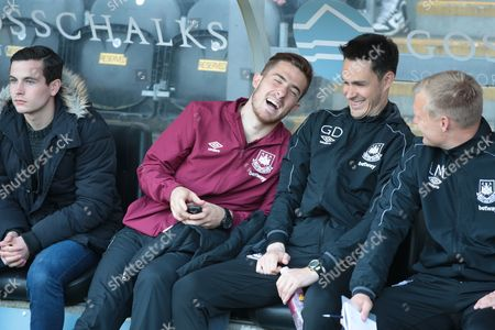 Stock Picture of New signing Tony Martinez watching West Ham United U21s 