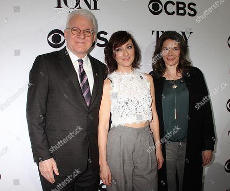 Stock Photo of Steve Martin, Carmen Cusak, and Edie Brickell