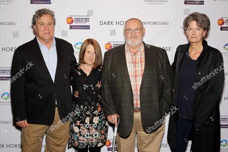 Tom Bernard (Co-Pres SPC), Jan Vokes, Brian Vokes, Louise Osmond