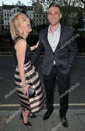 Stock Picture of Laura Hamilton & Colin Ratushniak