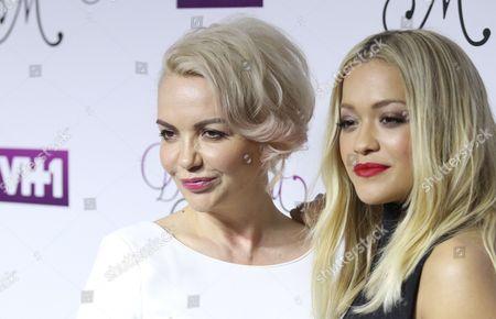Vera Sahatciu and her daughter Rita Ora