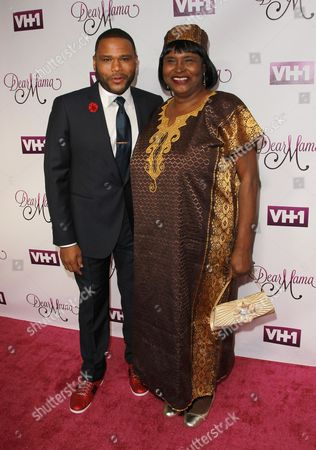 Anthony Anderson, and his mother Doris Bowman