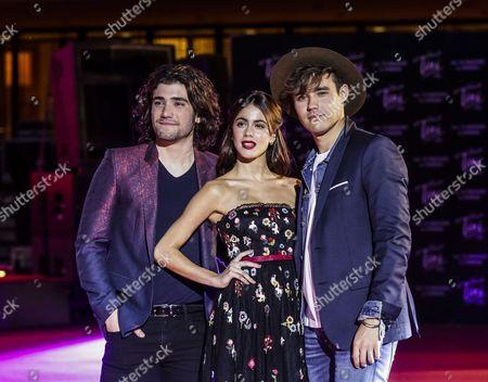 Stock Image of Adrian Salzedo, Martina Stoessel , Jorge Blanco