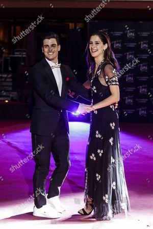 Pasquale Di Nuzzo and Clara Alonso