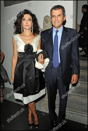 Ferruccio Ferragamo and wife