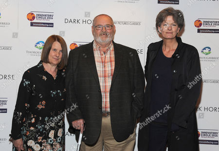 Jan Vokes, Brian Vokes and Louise Osmond