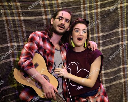George Maguire (Macheath) and Lauren Samuels (Polly Peachum)