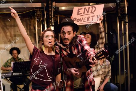 Editorial picture of 'The Busker's Opera' musical, Park Theatre, London, Britain - 04 May 2016