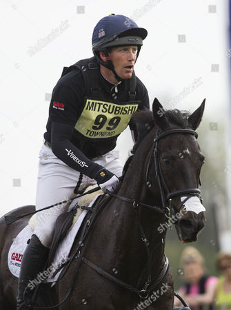 Oliver Townsend on Back Tie during The Cross Country Test Badminton 2016 Mitsubishi Badminton Horse Trials Cross Country Test Badminton Gloucestershire Picture: Sandra Mailer 07/05/16