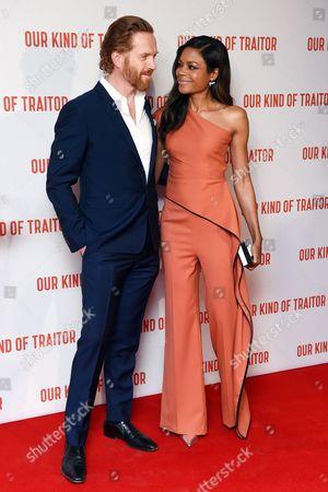 Damian Lewis and Naomie Harris