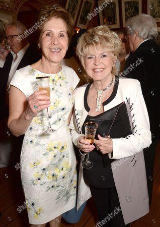 Georgina Simpson and Gloria Hunniford
