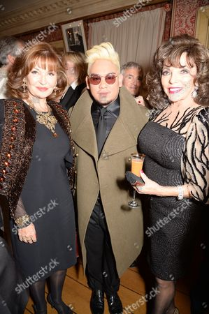 Editorial image of Joan Collins 'The St. Tropez Lonely Hearts Club' book launch at Harry's Bar, London, Britain - 05 May 2016