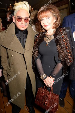 Editorial picture of Joan Collins 'The St. Tropez Lonely Hearts Club' book launch at Harry's Bar, London, Britain - 05 May 2016
