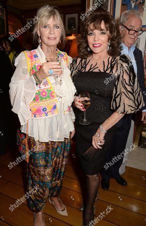 Pandora Delevingne and Dame Joan Collins