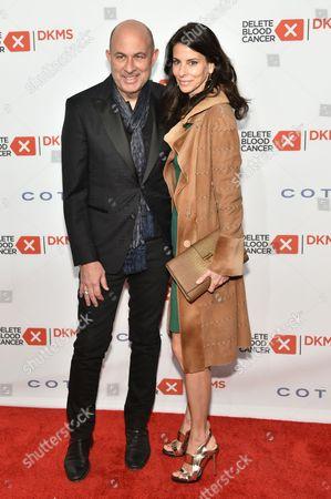 John Varvatos and Joyce Zybelberg Varvatos