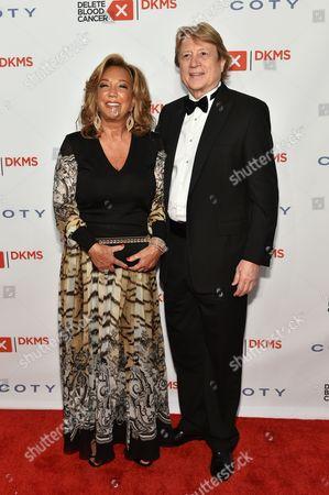 Denise Eisenberg Rich and Peter Cervinka