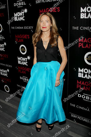 Editorial image of Montblanc and The Cinema Society with Mastro Dobel & Kim Crawford Wines host a screening of Sony Pictures Classics' 'Maggie's Plan', New York, America - 05 May 2016