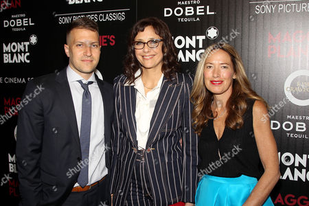Editorial picture of Montblanc and The Cinema Society with Mastro Dobel & Kim Crawford Wines host a screening of Sony Pictures Classics' 'Maggie's Plan', New York, America - 05 May 2016