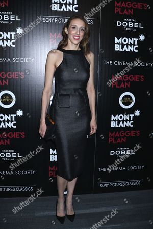 Editorial image of 'Maggie's Plan' film premiere, New York, America - 05 May 2016
