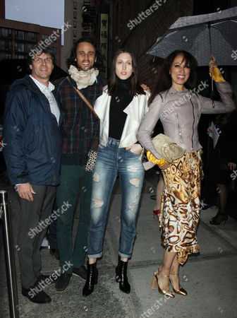 Paul van Ravenstein, Anna van Ravenstein and Pat Cleveland